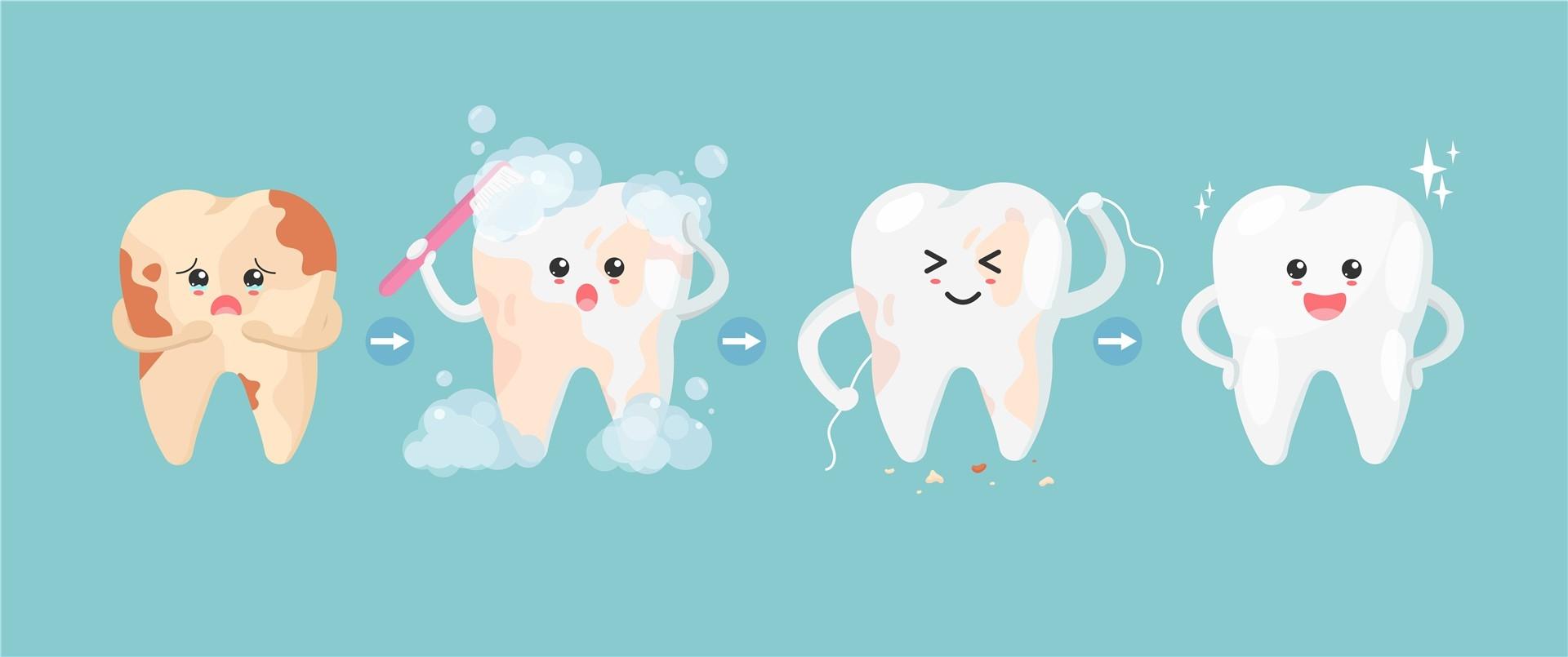 macchie dentali